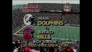 1990-12-23 Miami Dolphins vs Buffalo Bills