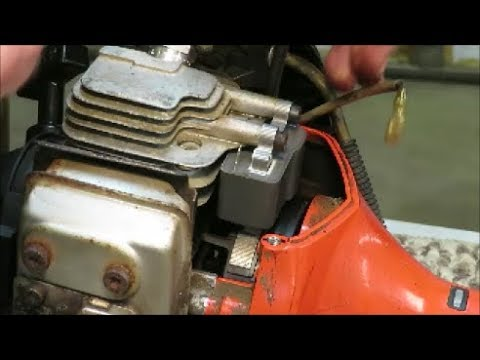 string trimmer weed eater coil test & replace