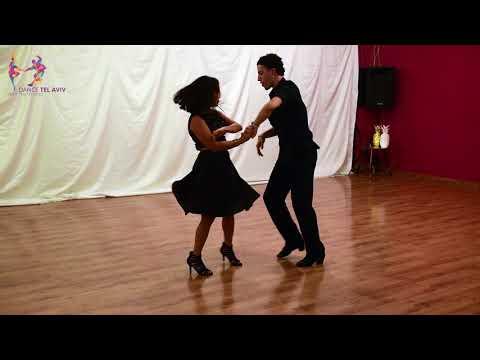 Sara  Rodriguez  & Rafael Fleishman Bachata Routine