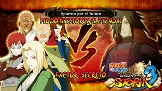 Naruto Shippuden: Ultimate Ninja Storm 3 Full Burst |Capitulo Final Kages vs Madara Boss Gameplay