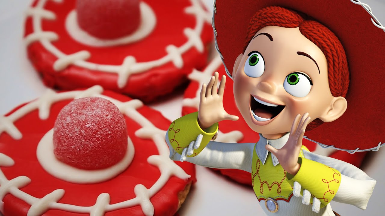 Jessie Cowgirl Hat Cookies Dishes By Disney Youtube