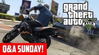 GTA 5 - Q&A Sunday (Fuel, Dating, Custom Music & GTA Online Property Explained) (GTA V)