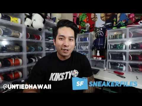 Untied Hawaii x Sneakerfiles Giveaway Winner
