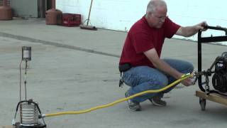 Pt.1 Vapor Carburetor-Gasoline Fuel Saver  - Gasoline Drip Carburetor System TEST 9-11-2011