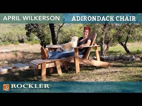Build an Adirondack Chair | April Wilkerson Project