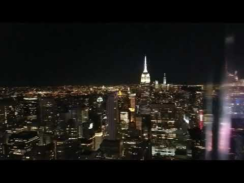 NYC view from Top of the Rock - Rockefeller Center