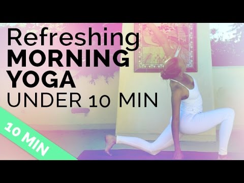 Download Easy Morning Yoga Sequence to Start Your Day Right (under 10 minutes!)