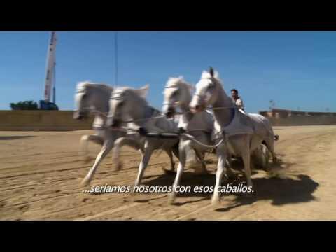 Detrás de Cámaras - BEN-HUR - carros romanos