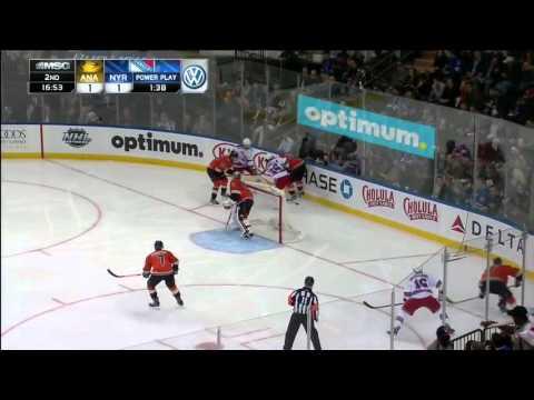 Ducks @ Rangers Highlights 12/22/15