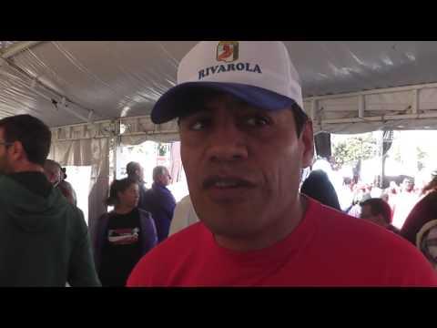 11º Maratón El Tribuno de Jujuy. Entrevistas con funcionarios
