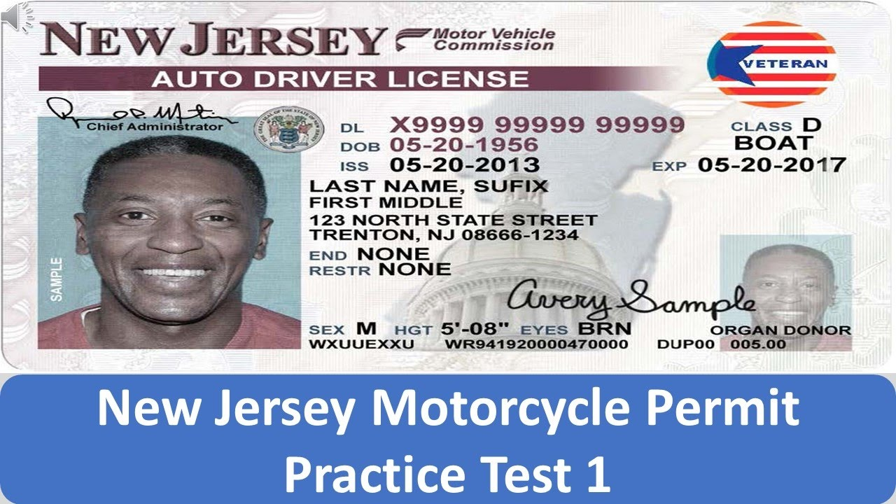 new jersey motorcycle permit practice test 1 youtube. Black Bedroom Furniture Sets. Home Design Ideas