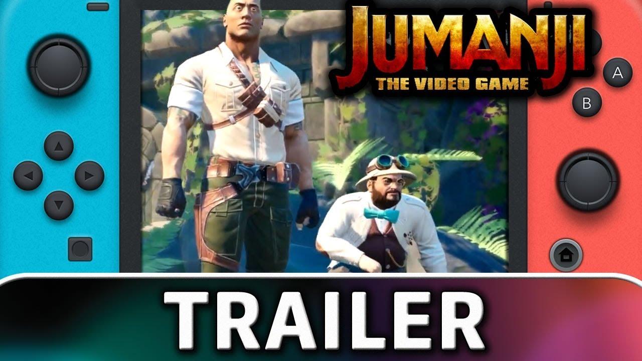 JUMANJI: The Video Game | Nintendo Switch Trailer & Screenshot