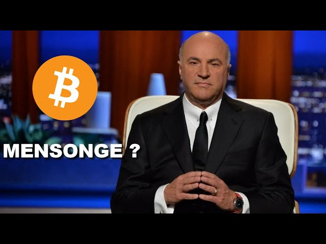 KEVIN O'LEARY VOUS MENT !!