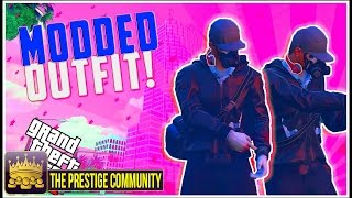 GTA 5 Clothes Glitches 1.37: DOPE ''RUN AND GUN'' Modded Outfit Glitch using Clothing Glitches (RnG)