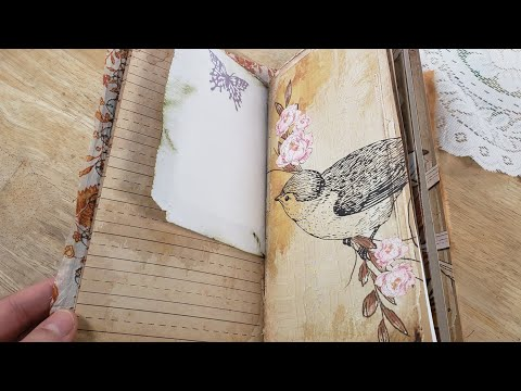 How to make a journal look old