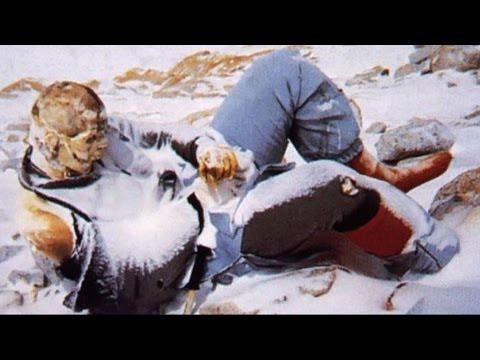 Los Cadáveres del Everest (Imágenes reales)