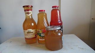 Как приготовить натуральный яблочный сок.