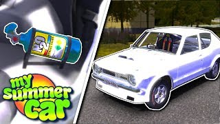 NITRIOUS & INSTALLING NEW PARTS! - My Summer Car Gameplay - My Summer Car Update