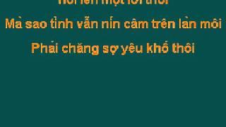 Karaoke Chưa Nói Cùng Anh