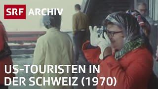 US-Touristen in der Schweiz (1970) | SRF Archiv