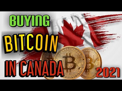 HOW TO BUY BITCOIN IN CANADA IN 2021   STEP BY STEP
