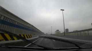阪神高速3号神戸線:阿波座分岐 → 月見山出口【HD車載動画】