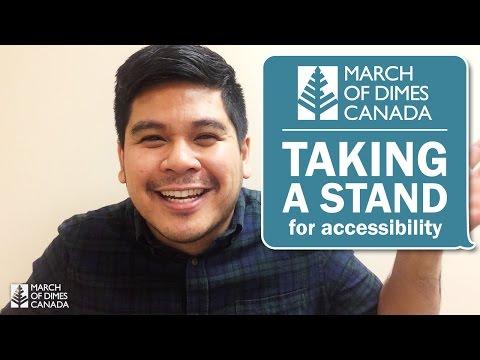 Taking A Stand With March Of Dimes Canada For Giving Tuesday 2015