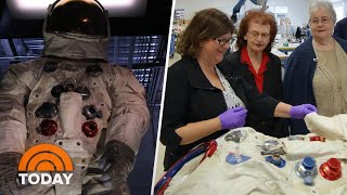 The Story Of Neil Armstrong's Spacesuit, Told By The Women Who Made It   TODAY