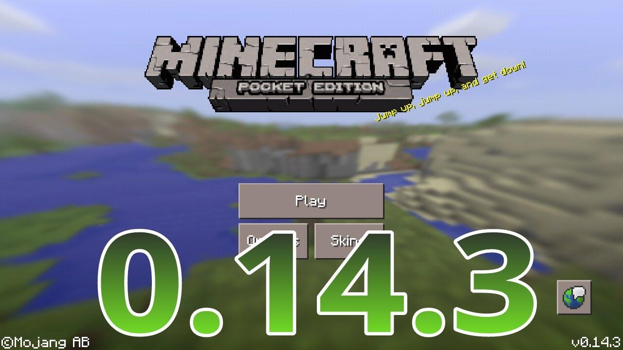 |Minecraft PE 0.14.3 Link Download| mTenGamer - YouTube
