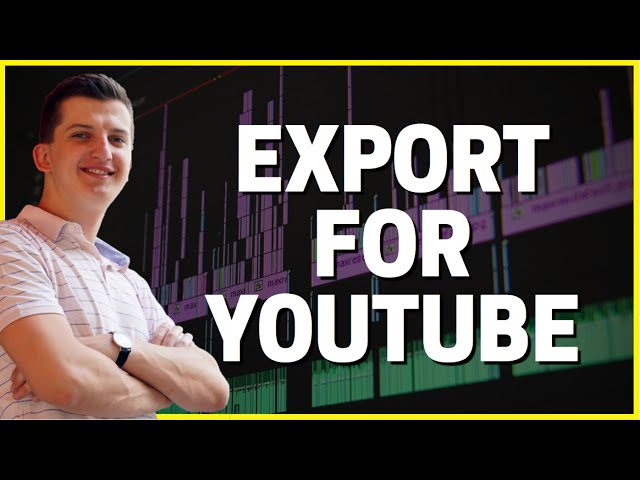 How To Export VIDEO For Youtube Adobe Premiere Pro