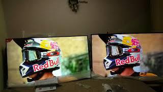 Сравнение картинок телевизоров mi tv 4 55 и Leeco X55L. Xmitv.ru