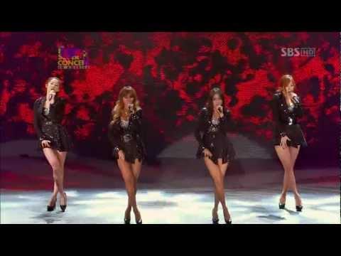 121223 SISTAR - Intro + Alone @SBS K-POP Super Concert In America