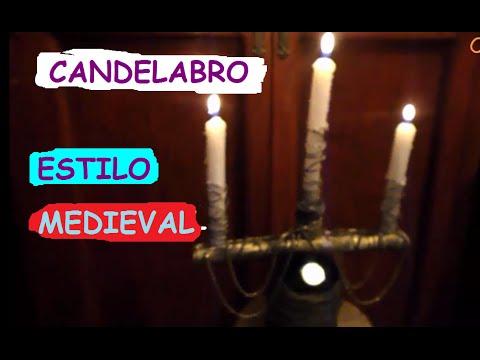 Como hacer un candelabro de estilo antig o reciclado youtube - Como hacer candelabros ...