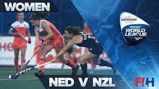 Netherlands v New Zealand Highlights - Sentinel Homes Hockey World League - Auckland, New Zealand