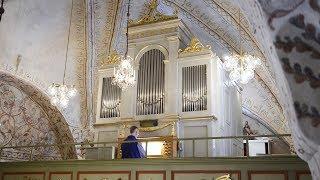Dietrich Buxtehude. Nun komm, der Heiden Heiland, BuxWV 211 från Grundsunda kyrka.