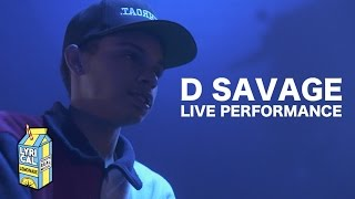 D Savage - 30 Round Clip + I Know II (Live Performance)