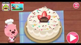 뽀로로게임 케이크 만들기(cake making Poro…