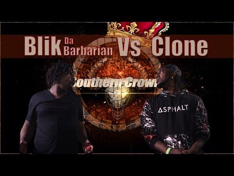 BLIK DA BARBARIAN vs CLONE hosted by John John Da Don (Full Battle) | BullPen Battle League