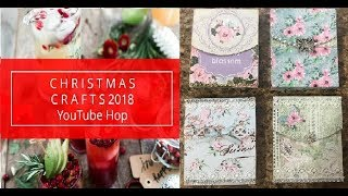 NOTE PAD TUTORIAL CHRISTMAS 2018 YOUTUBE HOP SHELLIE GEIGLE JS HOBBIES AND CR