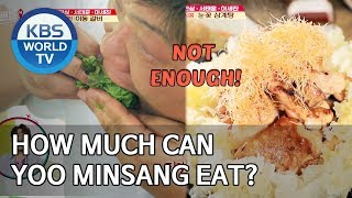How much can Yoo Minsang eat? Yoo Minsang the father of Mukbang [Editor's Picks / Battle Trip]
