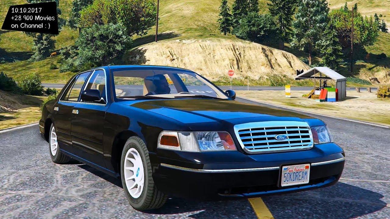 2003 Ford Crown Victoria Lx 1 0 Grand Theft Auto V Vi Future