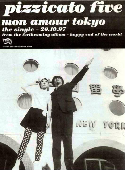 """Resultado de imagen para Pizzicato five  """"Mon Amour Tokyo"""" (1997)"""