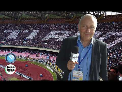 Napoli-Cagliari 3-0 Radiocronaca di Carmine Martino su Radio KissKiss Italia