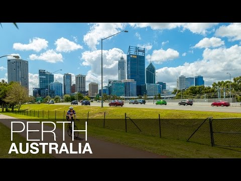 Largest Australian City 4K | Perth, Australia