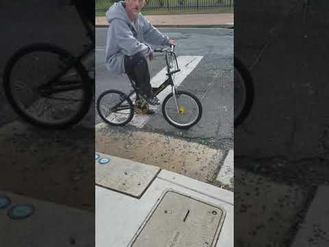 Guy on a bike !!