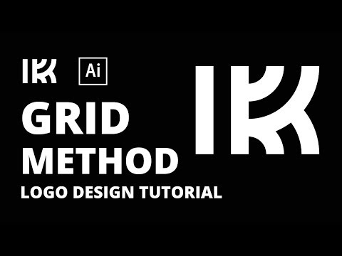 K Logo Tutorial Using the Grid method