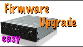 Firmware Update of a Blu-Ray Drive - Howto