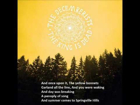 The Decemberists - June Hymn (With Lyrics) (2011)