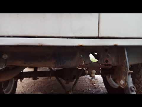 УАЗ 3909 Буханка 2016 года. Разрывы металла рамы. Жесть!!!