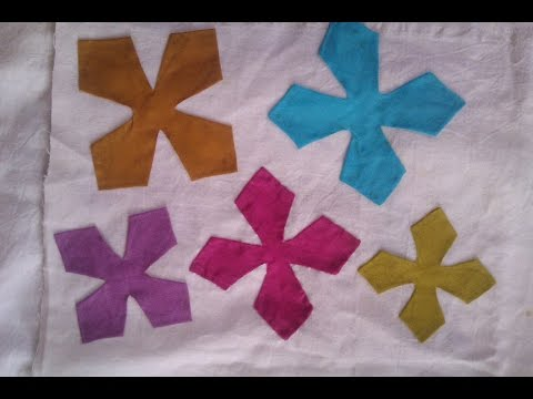 Applic Work Tutorial; Basic Applic Part 3; Four Petals Flower